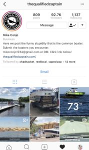 Sailing Instagram thequalifiedcaptain